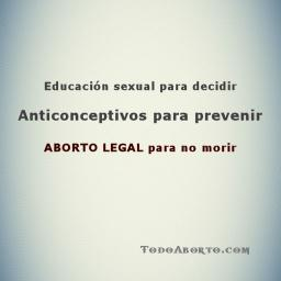 Aborto legal para no morir